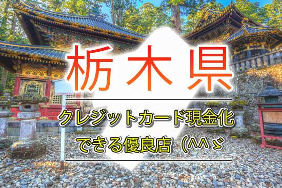 クレジットカード現金化 栃木