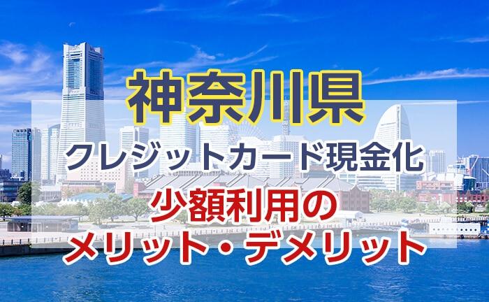 クレジットカード現金化 神奈川 少額